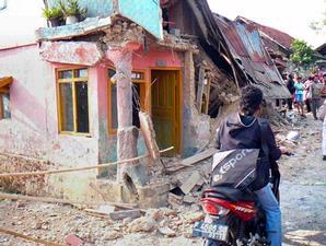 akibat gempa di sukabumi